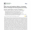 Preview image of journal article Signs, Fines and Compliance Officers: A Systematic Review of Strategies for Enforcing Smoke-Free Policy