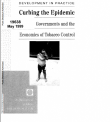 "preview image of resource document ""Curbing the Epidemic: governments and the economics of tobacco control, 1999"""